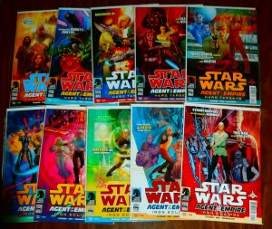 Star Wars  : Agent of the Empire   (complete set of 10)