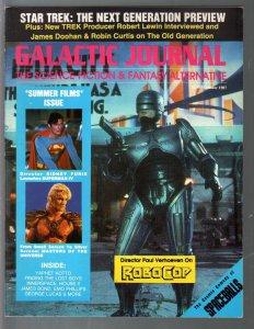 Galactic Journal-Summer 1987-Robocop-Star Trek NG-Superman IV-VF