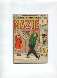 MAZIE #3 1951-NATION WIDE COMICS-VF-