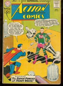 ACTION COMICS #278 DC SUPERMAN 1961 UNKNOWN SUPERGIRL VG