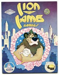 Lion And Lamb 1975- British underground comix VF