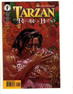 6 Dark Horse Comics Tarzan # 1 2 3 River Blood + Terminator Endgame # 1 2 3 CR25
