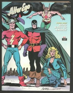 Alter Ego #5 2000-TwoMorrows-Justice League of America Special Issue-VG/FN