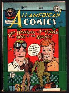 ALL-AMERICAN COMICS #77-GREEN LANTERN-HOP HARRIGAN-DC-  FN-