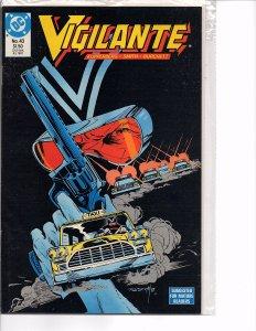 DC Comics Vigilante #43 Peacemaker, Negative Woman