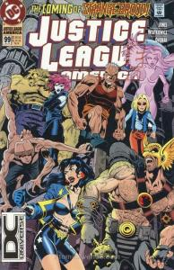 Justice League America #99 (2nd) FN; DC | save on shipping - details inside