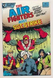 Air Fighters Meet Sgt. Strike Special (1988) #1 NM