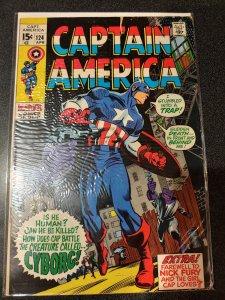 CAPTAIN AMERICA #124 FINE