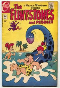 Flintstones and Pebbles #1 1970- Charlton comics FN-