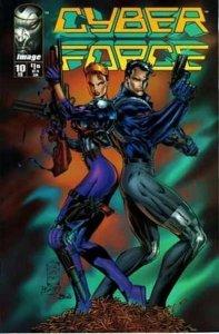 Cyberforce (1993 series) #10, NM (Stock photo)