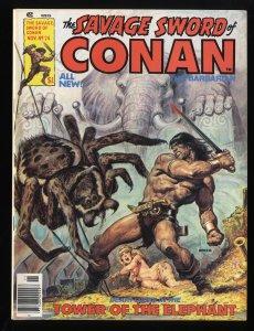 Savage Sword of Conan #24 VF/NM 9.0