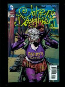 BATMAN THE DARK KNIGHT #23.4 JOKERS DAUGHTER 3-D COVER NEW 52 HIGH GRADE NM