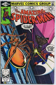 Amazing Spider-Man #213 ORIGINAL Vintage 1980 Marvel Comics Wizard