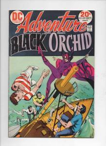 ADVENTURE COMICS #429, FN+, Tony DeZuniga, Black Orchid, 1938 1973,more in store