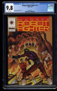Magnus Robot Fighter (1991) #13 CGC NM/M 9.8 White Pages