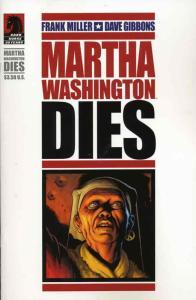 Martha Washington Dies #1 VF/NM; Dark Horse | save on shipping - details inside