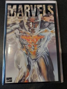 MARVELS BOOK 3 -ALEX ROSS NM SILVER SURFER.
