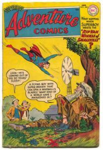 Adventure Comics #208 1955- SUPERBOY- Aquaman- Green Arrow VG+