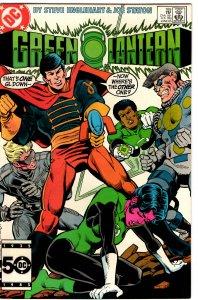 Green Lantern #189 (1960 v2) Hal Jordan John Stewart  NM