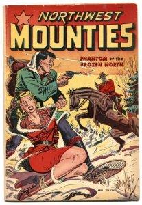 Northwest Mounties #3 1949- MATT BAKER-- Sky Chief  VG