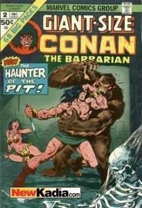 Giant-Size Conan #2, Fine- (Stock photo)