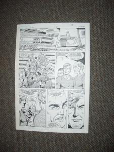 CURT SWAN ORIGINAL ART AQUAMAN #2 PG 4-NICE PANELS-1989 FN
