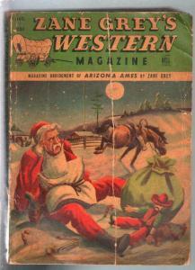 Zane Grey's Western Magazine 12/1947-Dell-J Frank Dobie-pulp adventure-G