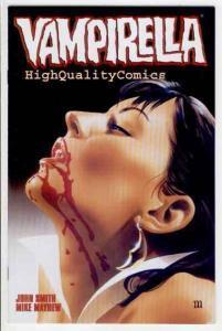 VAMPIRELLA #5, NM-, Femme Fatale, Fangs, Blood, Bite, 2001,more Vampire in store