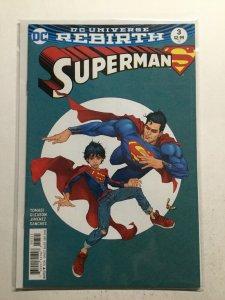 Superman 3 Near Mint Nm Variant Dc Comics Dc Universe Rebirth