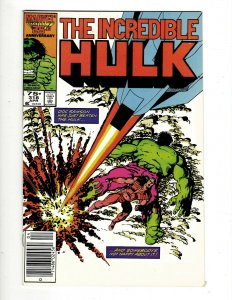 11 The Incredible Hulk Comics #318 320 321 322 323 324 326 328 336 337 344 GB2