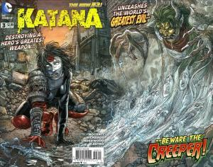 Katana #3 VF/NM; DC   save on shipping - details inside