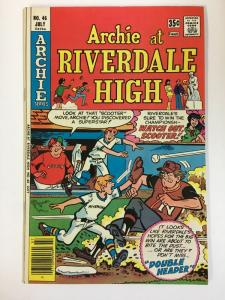 ARCHIE AT RIVERDALE HIGH (1972-1987)46 VF-NM   Jul 1977 COMICS BOOK
