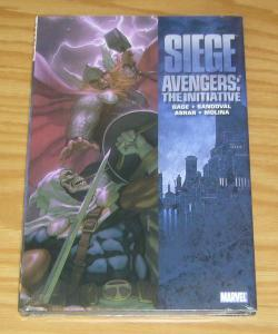 Siege: Avengers - the Initiative HC NEW - SEALED hardcover - thor vs taskmaster