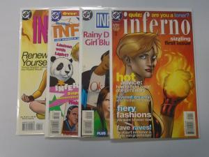 Inferno set #1 to #4 4 books 8.0 VF (1997)