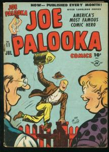 JOE PALOOKA #11 1947-HARVEY COMICS-BOXING-BLACK CAT fair