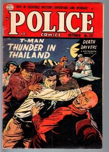 POLICE #127-QUALITY-REED CRANDALL-GOLDEN AGE-PRE-CODE CRIME-G G