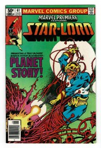 Marvel Premiere 61   Star-Lord