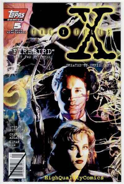 X-FILES #5, Dana Scully, 1st,  Fox Mulder, Carter, NM/M