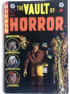Vault of horror 38,VF+, last issue Craig cover!!Red Dupe page!