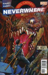 Neverwhere (Neil Gaiman's…) #9 FN; DC/Vertigo   save on shipping - details insid