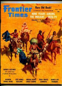 FRONTIER TIMES MAY 1963-WESTERN PUBLISHING-GENE SHORTRIDGE-VG