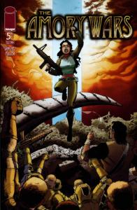 Amory Wars #5 VF; Image | save on shipping - details inside