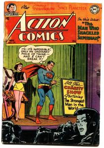 ACTION COMICS #175 1952-SUPERMAN-CONGO BILL-TOMMY TOMORROW-vg