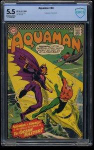 Aquaman #29 CBCS FN- 5.5 Off White to White 1st Ocean Master!