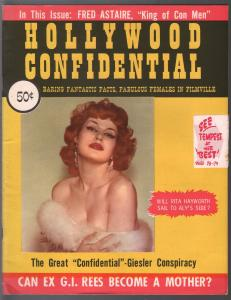 Hollywood Confidential 1955-exploitation-Robert Mitchum-Fred Astaire-FN-