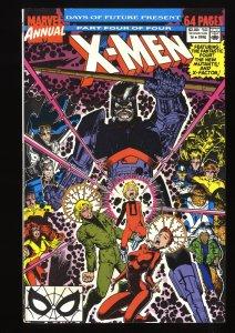 X-Men Annual #14 FN/VF 7.0 1st Gambit Cameo!