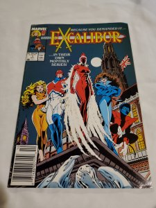 Excalibur 1 Very Fine Cover by Alan Davis and Paul Neary