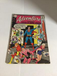 Adventure Comics Vg Very Good 4.0 DC Comics Silver Age