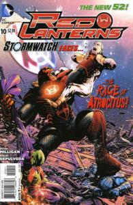 Red Lanterns #10 VF/NM; DC   save on shipping - details inside