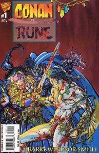Conan vs. Rune #1 VF/NM; Marvel   save on shipping - details inside
